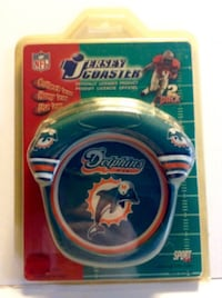 Miami Dolphins NFL Neoprene Jersey Coasters Set Of Two London