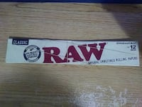12 Inch Raw Rolling Papers. New. Palmdale, 93550