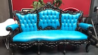 Victorian royal couch sofa throne ornate tufted Carlsbad, 92008