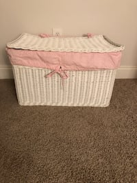 Pottery Barn wicker toy chest  Canton, 30115