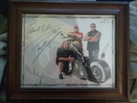 Orange County Choppers Autographed Photo  Glen Spey, 12737