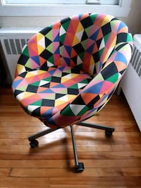 Colourful office chair