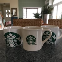 Starbucks Mugs - Set of 3 Classic Styles  Toms River, 08755
