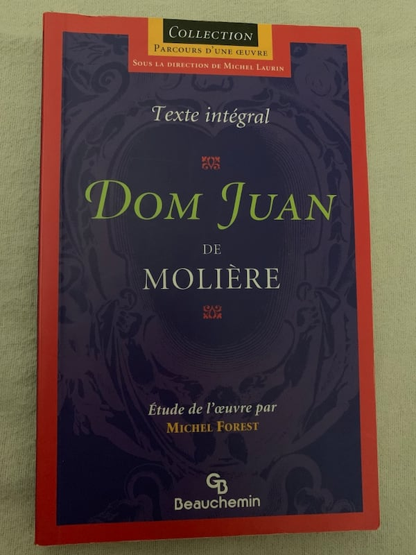 Dom Juan de Molière (French book) 0