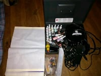 black Sony PS2 console with controller and game case Bakersfield, 93308