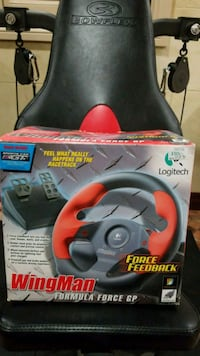 LOGITECH STEERING WHEEL AND PEDALS Brampton, L6Z 3Z6