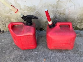 Plastic Gas Tank - $7 each