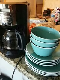 Mr. Coffee and home essentials plates