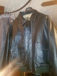 Leather Bomber Jacket Bluff City, 37618