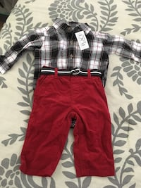 red and white plaid onesie Fulton, 95439