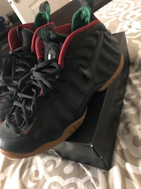Gucci foamposite with the box 18 mi