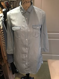 H&M jeans dress shirt size 4 Oakville, L6H 1Y4
