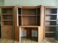 brown wooden TV hutch with cabinet Gatineau, J8Z 1J4
