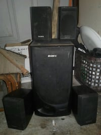 5set SONY speakers wrks great