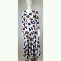 white, blue, and red floral sleeveless dress Fort Myers, 33901