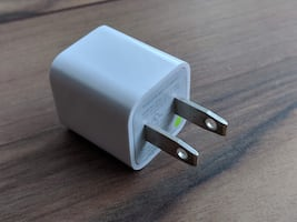 Original iPhone wall charger