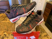 NEW MENS NIKE AIR MAX 95 PREMIUM TAPE CAMO ATOMIC RED SIZE 10 Lewis Center, 43035