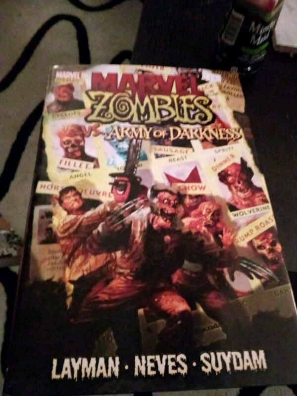 Marvel zombies vs army of darkness