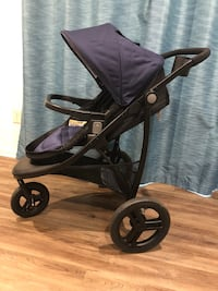 Baby's black and Navy Blue jogging stroller Dumfries, 22026