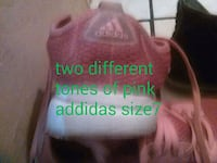 Pink size seven womans tennis shoes addidas brand Tulsa, 74127