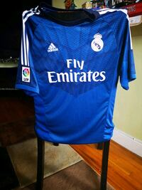 Adidas Real Madrid Ronaldo CR7 Soccer Jersey Fly Emirates Yonkers