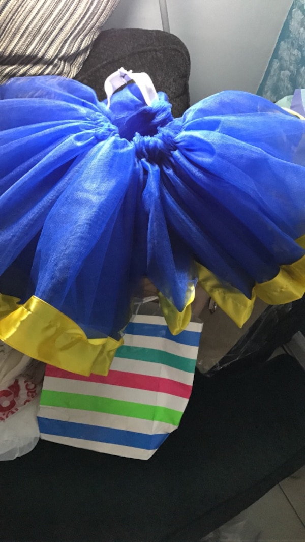 431c35043 Used Blue and yellow tutu skirt for sale in New York - letgo