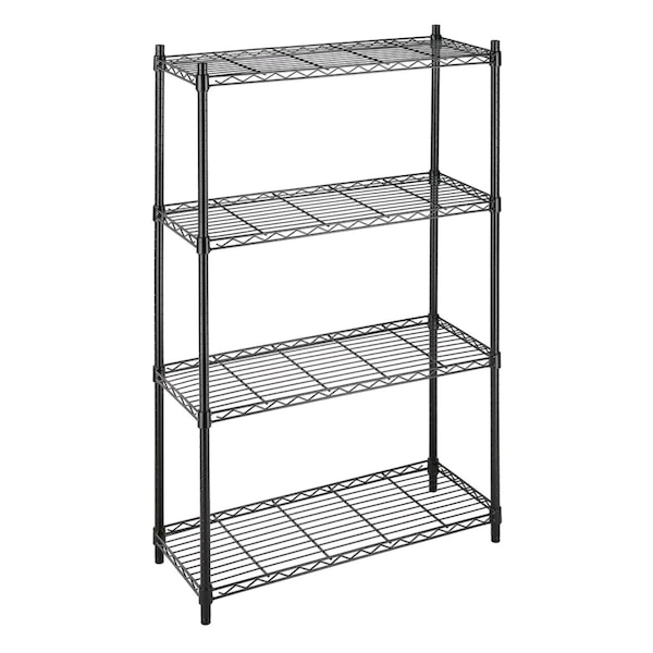 Used 4-Tier Wire Shelving