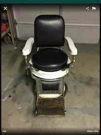 black and white salon chair Long Beach, 90805