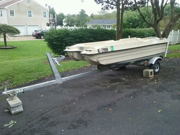 Pelican Bass Raider Boat With Trailer