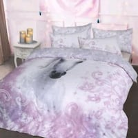 Pretty Unicorn Bedding Double Burntwood, WS7 2PD