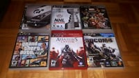 6 PS3 games with GTA V included Montreal