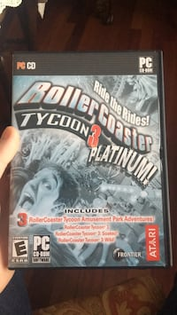 Roller Coaster Tycoon 3 PC CD Game