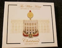 White House 2018 Christmas Ornament  Fairfax