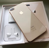 Apple iPhone 8plus Gold Montreal