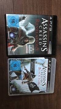 Assassin's creed revelations ps3 & assassin's creed black flag ps3 gebraucht -sehr gut Düsseldorf, 40235