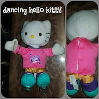 Sound activated Dancing hello Kitty