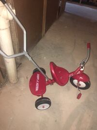 toddler's red Radio Flyer trike Clifton, 07011