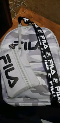 NEW Fila small backpack with small bag