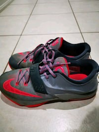 Used Good Condition Boys KD Shoes Size 7  Caledon