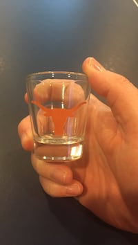 Texas Longhorn Shot Glass 67 km