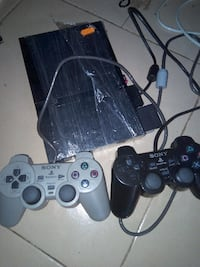 Sony PS2 slim console with two controllers ATLANTA