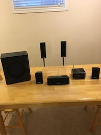 Panasonic surround sound speakers Cambridge, N3C 4G7