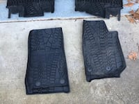 two black Jeep vehicle mats Silver Spring, 20901