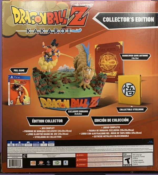 Dragon Ball Z Kakarot Collector's Edition  326aa336-01ed-4a21-8375-9d12f147b66c