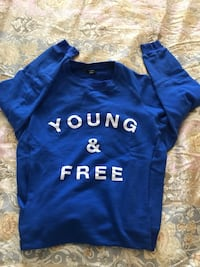 Official Young & Free  band sweatshirt . Unisex size -M Burnaby, V5H 1Z9
