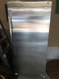 Stainless steel refrigerator Sherwood Park, T8H 0L3