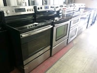 white and black induction range oven Winter Haven, 33880