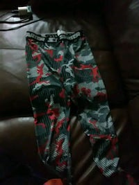 black, red, and green floral pants Wichita, 67213