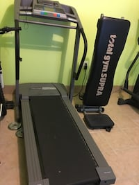 black and gray Altis treadmill Woodbridge, 22192