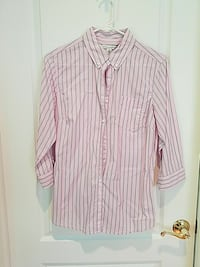 Banana republic three quarter sleeve shirt